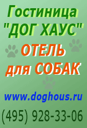Гостиница - отель для собак Догхауз (495) 928-33-06.